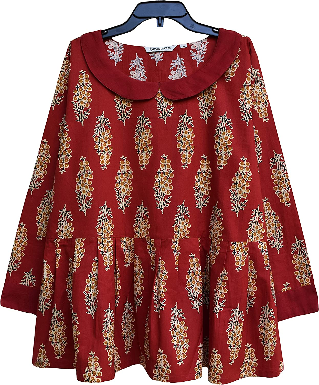 shop AVNI Printed Soft Luxury Cotton Applique look Embroiderd Hand