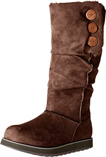 Skechers Wohommes Keepsakes-Big Button Slouch Slouch Slouch Tall Winter démarrage, Chocolate, 5 M US d49