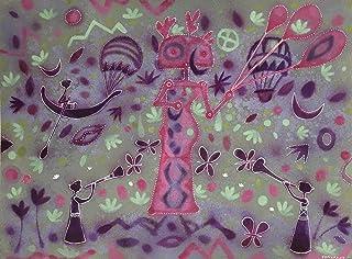 La globera,Oleo sobre canvas