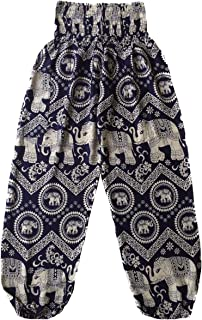 Love Quality Navy Elephants Pants One Size