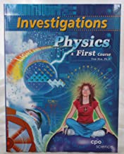 Physics - a First Course, Investigations Manual