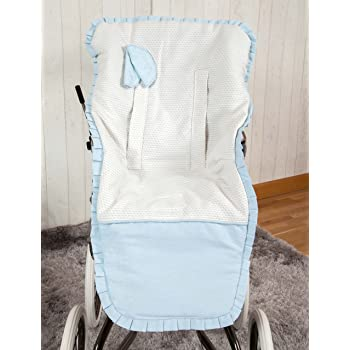 Colchoneta para silla de paseo color azul Babyline Summer