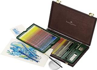 Faber-Castell Albrecht Durer Watercolor Pencil Studio Wood Case, Set of 48 Colors & Accessories (FC117506)