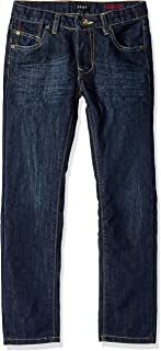 DKNY Big Boys' Greenwich Slim Fit Stretch 5 Pocket Denim Jean