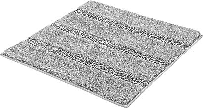 "Kleine Wolke"" Monrovia Bath Rug, Polyester, Grey, 60 x 60 x 2.5 cm"