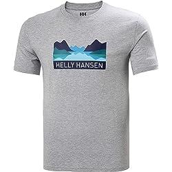 Helly Hansen Nord Graphic T-Shirt Camiseta Hombre