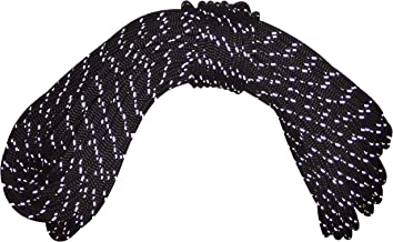 Samson Black with Reflective Tracer Accessory Cord Rope 5MM 3/16