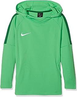 NIKE B NK Dry Acdmy18 Hoodie Po Sweatshirt, Niños, Lt Green Spark/ Pine Green/ Pine Green/ White, XS