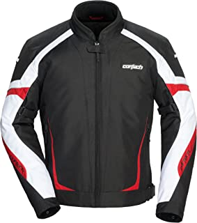 Cortech Men's VRX 2.0 Jacket Black/Red X-Small