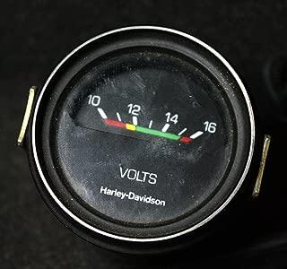 Replacement Harley Davidson Voltmeter Volt Gauge 74432-77 12V Sportster Super Glide