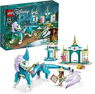 LEGO 43184 Disney Princess Raya and Sisu Dragon Toy, from Disney's Raya and the Last Dragon Movie, For Kids 6 + Years Old