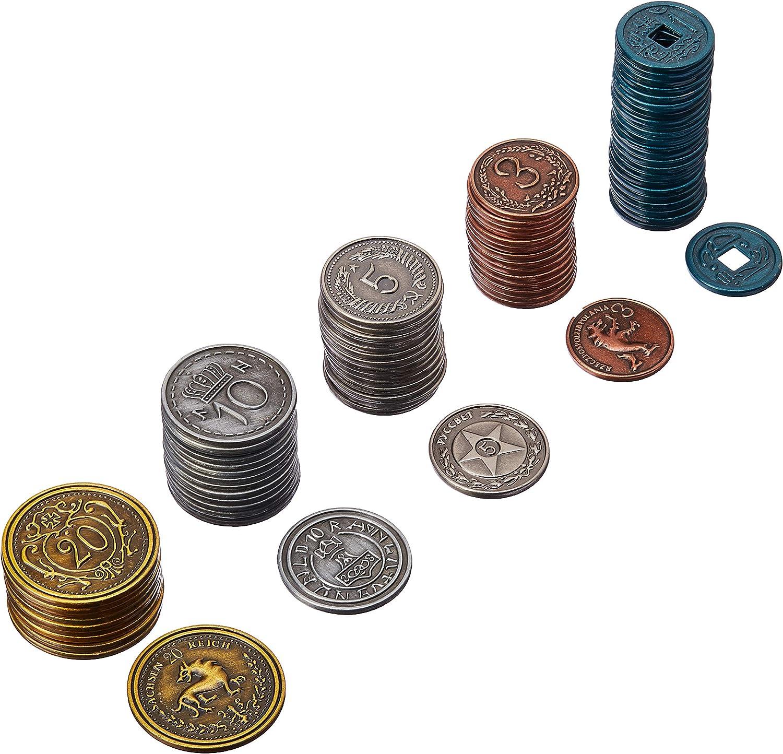 Scythe: Metal monedas adicional , color/modelo surtido
