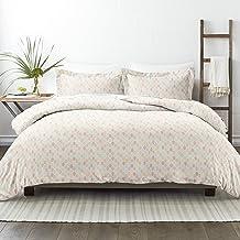 طقم ملاءات سرير من 3 قطع من سيمبلي سوفت بريميوم بتصميم أوراق الخريف