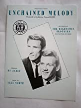 Unchained Melody as Recorded by The Righteous Brothers (Featured in the Movie GHOST) - Piano/Vocal/Guitar