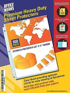 Best sheet protectors heavy duty Reviews