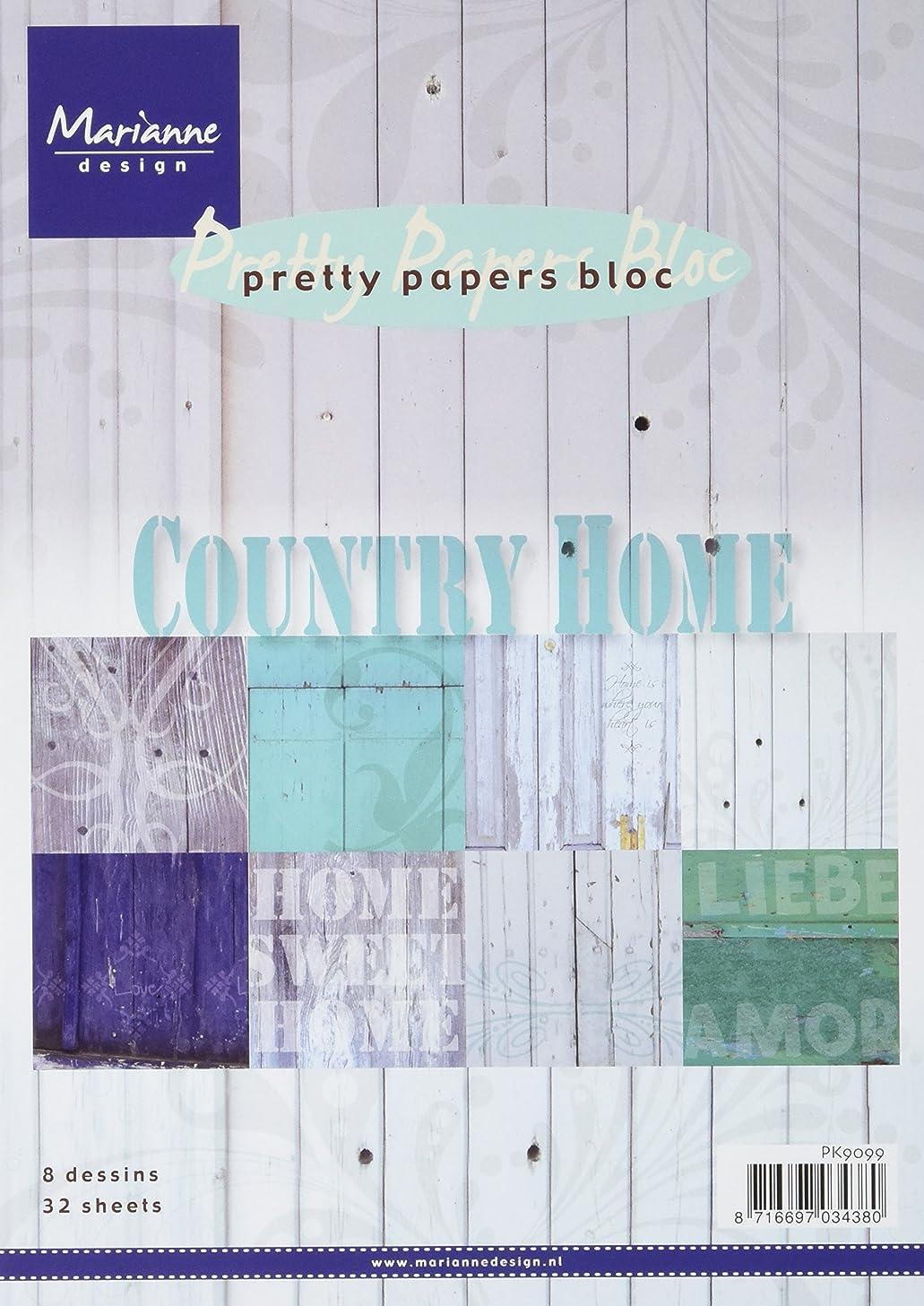 Marianne Design Marianne's Pretty Paper Bloc, Country Home
