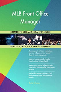 MLB Front Office Manager Toolkit: best-practice templates, step-by-step work plans and maturity diagnostics