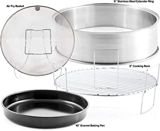 NUWAVE Primo Extender Ring Kit; Cook up to 16 pound Turkey or 14 pound Ham for the Holidays; Contains 5