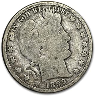 1899 Barber Half Dollar Good Half Dollar Good