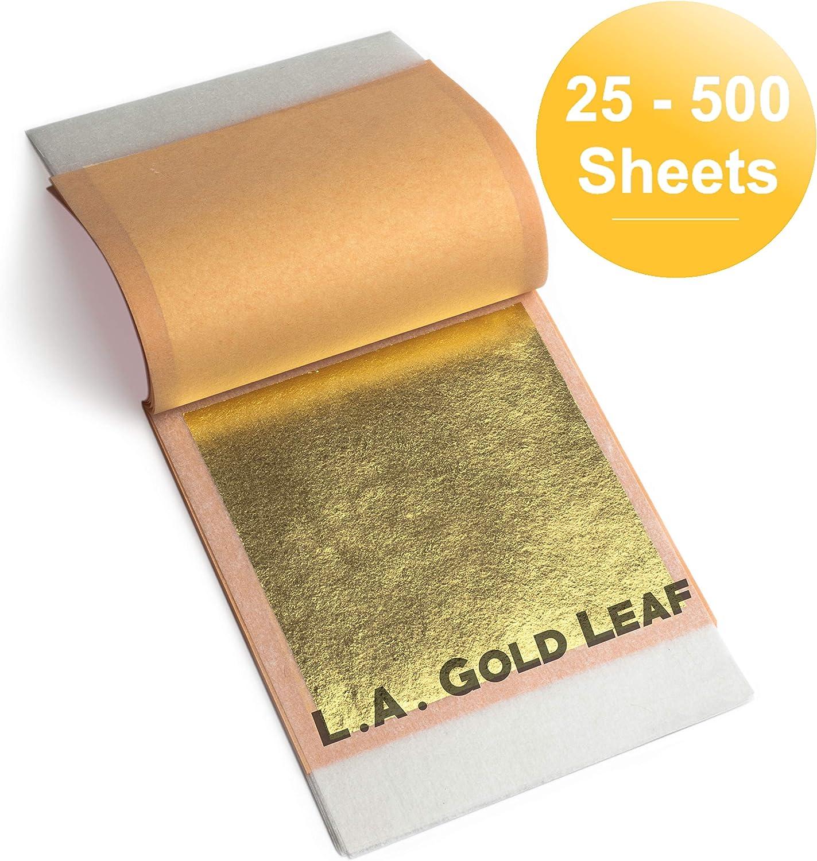 L.A. Gold Leaf: Transfer Leaf Genuine 12k Max 88% OFF Discount mail order 2 21k Silver 18k