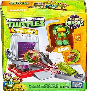 Mega Construx Teenage Mutant Ninja Turtles Half-Shell Heroes Cookie Factory Battle