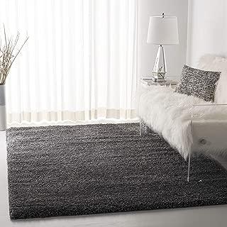 Safavieh California Premium Shag Collection SG151-8484 Dark Grey Area Rug (8' x 10')