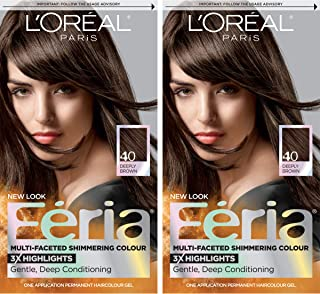 loreal feria deeply brown 40