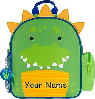 Personalized Mini Sidekick Dinosaur Dino Backpack Bookbag with Custom Name