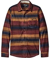 O'Neill Kids - Glacier Stripe Long Sleeve Shirt (Big Kids)