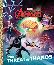 The Threat of Thanos (Marvel Avengers) (Little Golden Book)