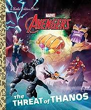 The Threat of Thanos (Marvel Avengers) (Little Golden Book)