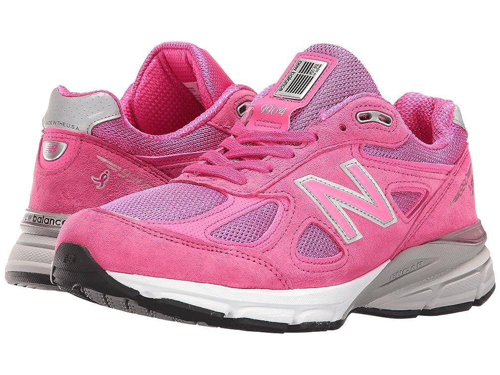 見通し貧困変更可能(ニューバランス) New Balance レディースランニングシューズ?スニーカー?靴 990 V4 Pink/Purple 5.5 (22.5cm) D - Wide