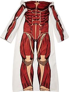 Surreal Entertainment Attack on Titan Colossus Titan Snuggler Blanket