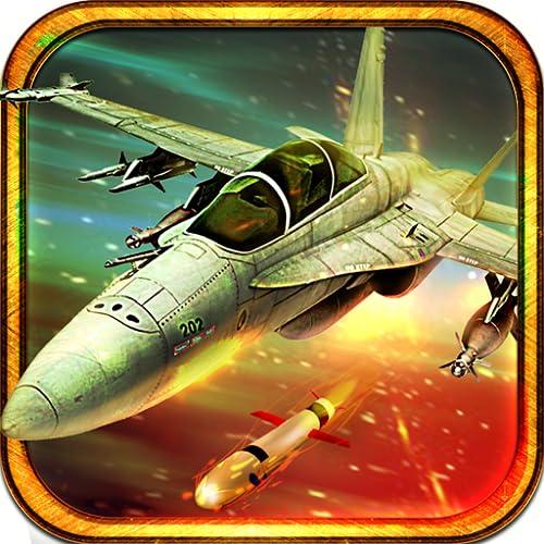 F18 vs F16 Air Battle Dogfight Attack Combat Flight Survival Hero: F16 Flight Pilot Jet Fighter Air Attack Action Simulator Game 3D
