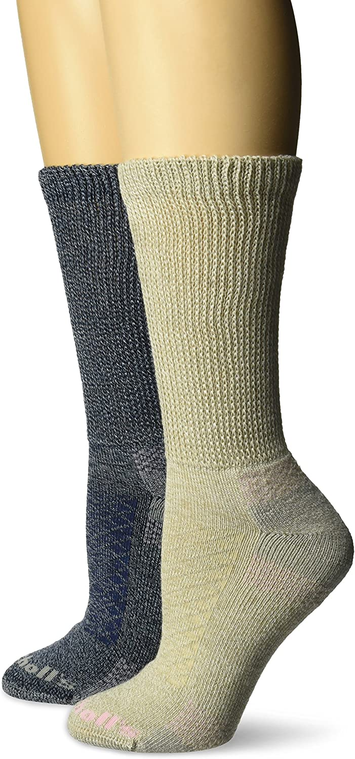 Dr. Scholl's womens Advanced Relief Blisterguard Casuals Crew Socks (2 Pack)
