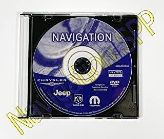 Chrysler Dodge Jeep REC RB1 GPS Navigation Map Update DVD Disc - ver 05064033AL