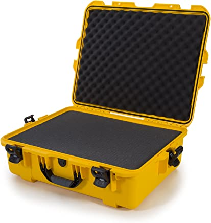 Nanuk 945 Waterproof Hard Case with Foam Insert - Yellow - Made in Canada