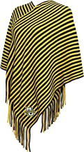 NCAA Womens NCAA Women's Campus Specialties Striped Team Poncho