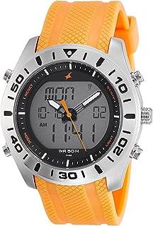 Fastrack Analog Orange Dial Men's Watch-NK38034SP01