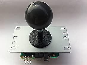 Sanwa JLF-TP-8YT-SK OEM Gray Ball Handle Arcade Joystick 4 and 8 Way Adjustable (Mad Catz SF4 Tournament Joystick Compatible)