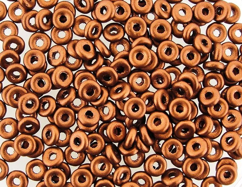 Czech O-Beads 3.8 x 1 mm Copper 8.1g