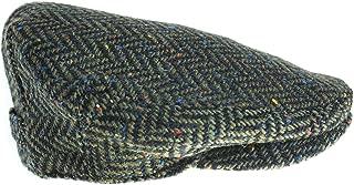 Biddy Murphy Men's Tweed Cap 100% Irish Wool Tweed Driver's Cap Made in Ireland