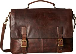 Dark Brown Antique Pull Up