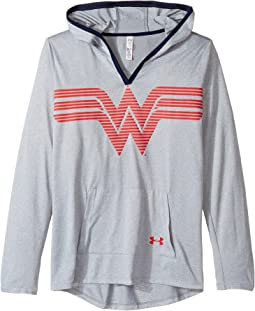 Under Armour Kids - Wonder Woman Tech Hoodie (Big Kids)