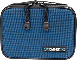 ChillMED Type 1 Diabetic Organizer Travel Kit | Insulin Cooler Bag with Ice Pack for Traveling & Everyday Use - Blue