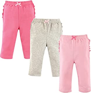 Hudson Baby Baby Cotton Pants, 3 Pack