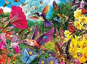 Buffalo Games - Vivid Collection - Hummingbird Garden - 1000 Piece Jigsaw Puzzle