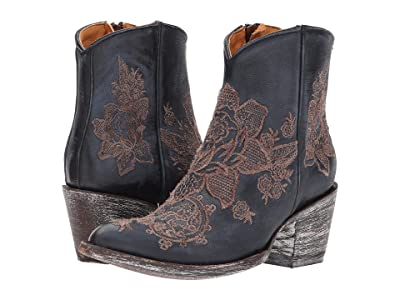 Old Gringo Nicolette Ankle (Blue) Cowboy Boots