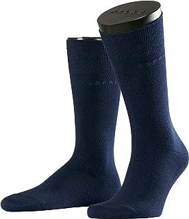 ESPRIT Socken Basic Uni 2-Pack Baumwolle Herren schwarz weiß viele weitere Farben verstärkte Herrensocken ohne Muster atmungsaktiv dünn und einfarbig im Multipack 2 Paar