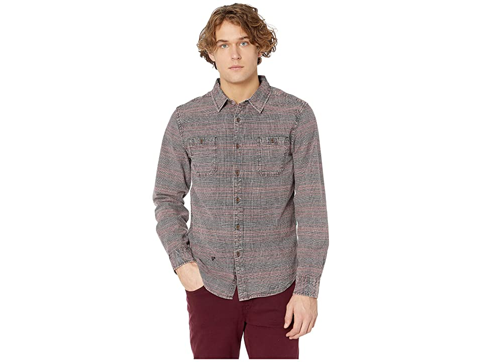 VISSLA Lacerations Flannel Shirt (Phantom) Men